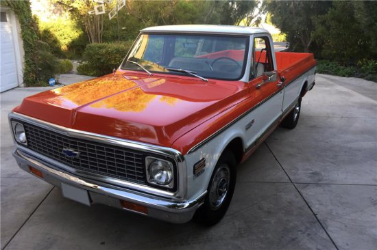 1971 CHEVROLET CHEYENNE SUPER 10 PICKUP