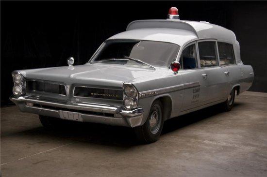 1963 PONTIAC BONNEVILLE JFK AMBULANCE