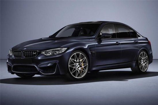 2017 BMW M3 30 JAHRE EDITION SEDAN