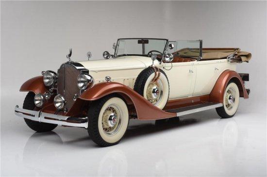 1933 PACKARD SUPER 8 TOURING 5/7-PASSENGER