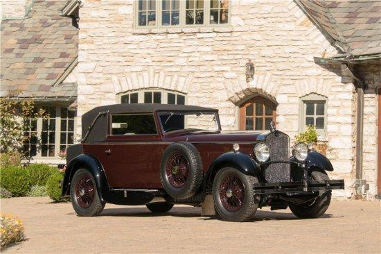1930 DELAGE D8 CABRIOLET