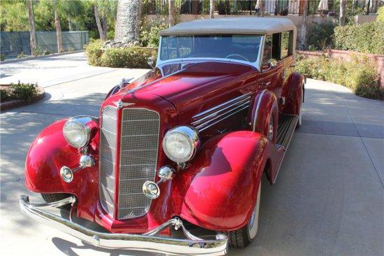 1935 BUICK 67C CUSTOM CONVERTIBLE