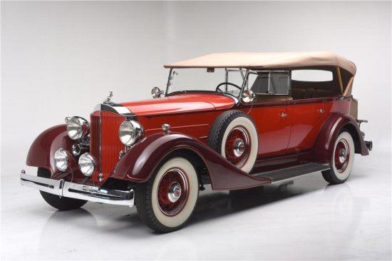 1934 PACKARD EIGHT TOURING 5/7-PASSENGER