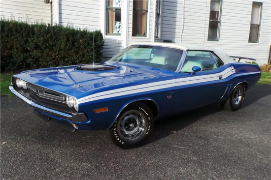 1971 DODGE CHALLENGER R/T CONVERTIBLE RE-CREATION