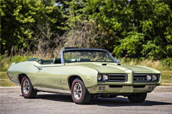 1969 PONTIAC GTO JUDGE RAM AIR III CONVERTIBLE