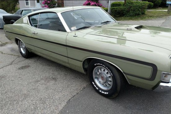 1969 FORD TORINO GT FASTBACK