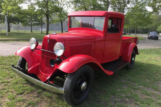1934 FORD MODEL A PICKUP
