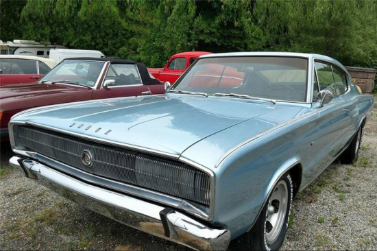 1966 DODGE CHARGER FASTBACK