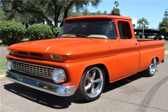 1963 CHEVROLET C10 CUSTOM PICKUP