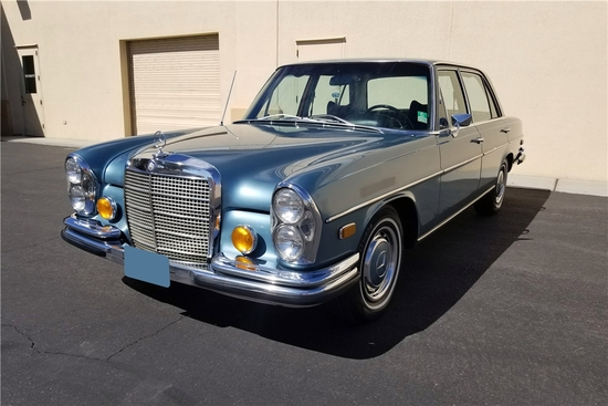 ELVIS PRESLEYS 1971 MERCEDES-BENZ 280SEL