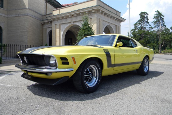 1970 Ford Mustang Boss 302 Fastback Collector Cars