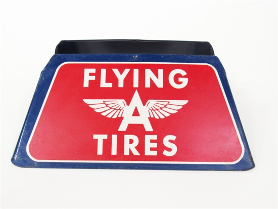 1940S DOUBLE EAGLE BY GOODYEAR METAL TIRE DISPLAY