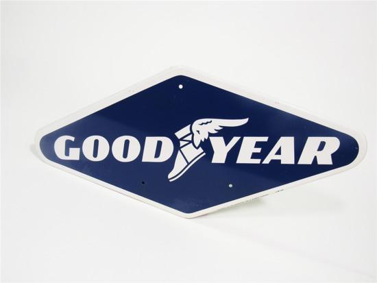 1967 GOODYEAR TIRES TIN TIRE DISPLAY SIGN