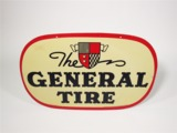 1949 THE GENERAL TIRE TIN AUTOMOTIVE GARAGE SIGN