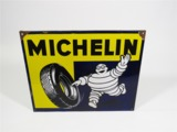 1947 MICHELIN TIRES PORCELAIN AUTOMOTIVE GARAGE SIGN
