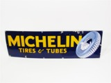 CIRCA 1930S-40S MICHELIN TIRES & TUBES PORCELAIN AUTOMOTIVE GARAGE SIGN