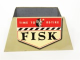 EARLY 1950S FISK TIRES METAL AUTOMOTIVE GARAGE TIRE DISPLAY HOLDER