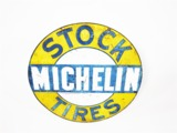 LATE 1920S-EARLY 30S MICHELIN TIRES TIN AUTOMOTIVE GARAGE SIGN