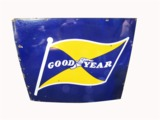 1940S-EARLY 50S GOODYEAR TIRES PORCELAIN SIGN