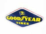 1958 GOODYEAR TIRES TIN TIRE DISPLAY SIGN