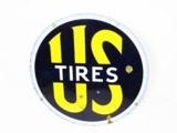 1930S U.S. TIRES PORCELAIN AUTOMOTIVE GARAGE SIGN