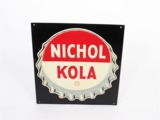 1940S NICHOL KOLA EMBOSSED TIN SIGN