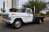 1968 FORD F-350 FLAT-BED DUALLY TRUCK