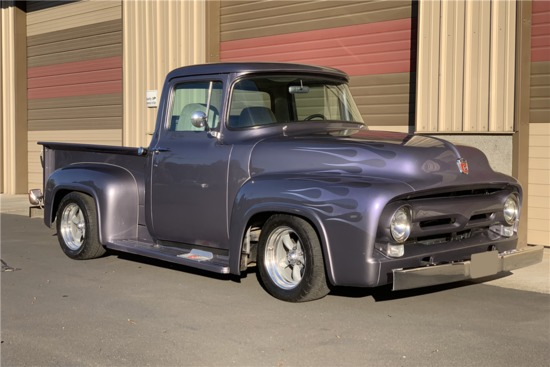 1956 FORD F-100 CUSTOM PICKUP | Collector Cars | Auctions