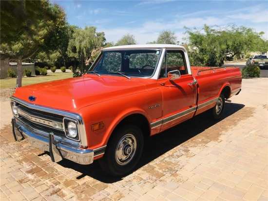 1969 CHEVROLET C10 CUSTOM DELUXE PICKUP