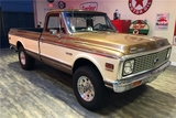 1972 CHEVROLET K10 CUSTOM 4X4 PICKUP