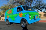 1968 FORD ECONOLINE CUSTOM MYSTERY MACHINE VAN