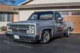1987 CHEVROLET SILVERADO CUSTOM PICKUP