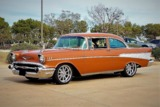 1957 CHEVROLET BEL AIR CUSTOM 2-DOOR POST
