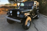 1985 JEEP CJ7 CONVERTIBLE