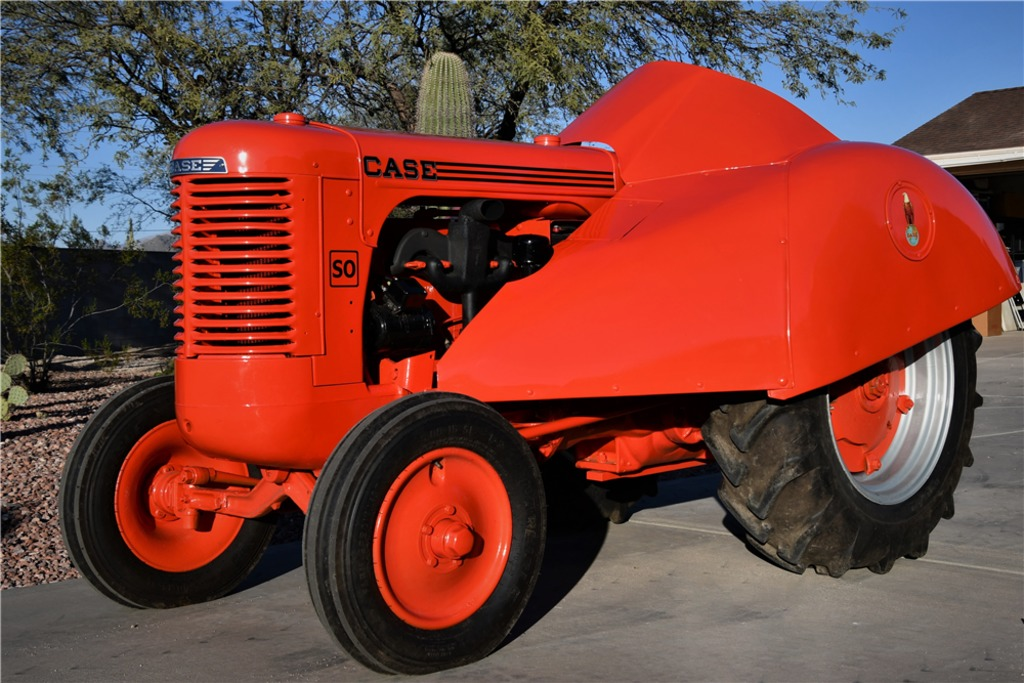 1949 CASE SO ORCHARD STREAMLINE TRACTOR