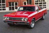 1967 CHEVROLET EL CAMINO CUSTOM PICKUP