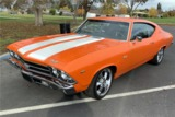 1969 CHEVROLET CHEVELLE SS 396 CUSTOM COUPE