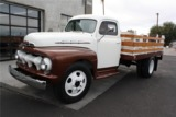1951 FORD CUSTOM STAKE-BED PICKUP