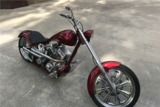 2001 WEST COAST CHOPPERS EL DIABLO CUSTOM SOFTAIL MOTORCYCLE