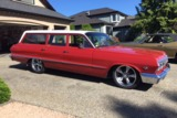 1963 CHEVROLET BEL AIR CUSTOM WAGON