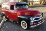 1954 CHEVROLET 3100 CUSTOM DELIVERY PANEL TRUCK