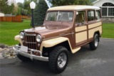 1955 WILLYS OVERLAND 4X4 STATION WAGON