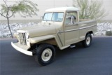 1954 WILLYS JEEP 4X4 PICKUP VIN 001