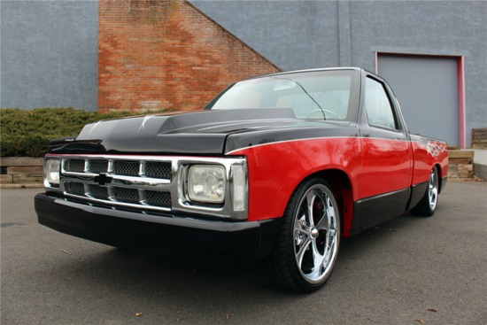 1986 CHEVROLET S-10 CUSTOM PICKUP