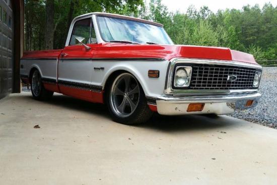 1972 chevrolet c10 custom pick auctions online proxibid 1972 chevrolet c10 custom pickup