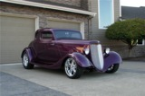 1934 FORD CUSTOM 5-WINDOW COUPE