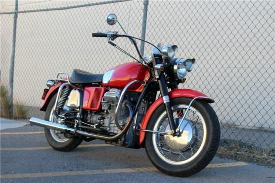 1970 MOTO GUZZI V7 MOTORCYCLE
