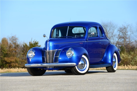 1940 FORD SUPER DELUXE CUSTOM COUPE