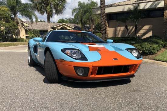 2006 Ford Gt Heritage Edition Auctions Online Proxibid