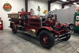 1928 AHRENS FOX M-S-2 ANTIQUE FIRETRUCK